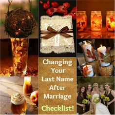 brown and gold Fall wedding color combination from from Top 6 Fall Wedding Color Combinations & Bridesmaid Dresses Trends