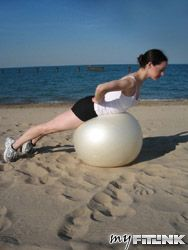Back Extension - Stability Ball