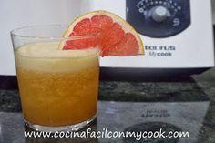 Mis recetas Mycook: Zumo de piña y pomelo Pudding, Cooking, Desserts, Food, Pineapple Juice, Juicing, Smoothie Prep, Sorbet, Food Processor
