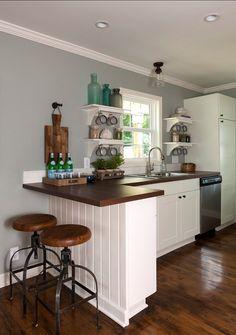 Grey Paint Color Ideas. Valspar Rope EB48-3. #Valspar #Rope #EB48-3. Loftus Design, LLC