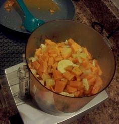 The Johnston's: {Home made baby food: Chicken with sweet potato & apple}