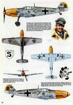 Me Bf 109E - Adolf Galand