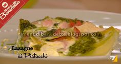 Lasagne ai Pistacchi
