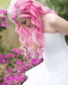 Perfect pink hair