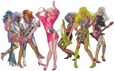Jem and the Holograms was a favorite Saturday morning cartoon for many girls in the early How about hosting a fun retro party staring Jem! Here's how to host and decorate with an rock theme, with invites, costumes, food and drink and entertainment. Jem And The Holograms, Patrick Swayze, Ricky Martin, Childhood Toys, Childhood Memories, Sweet Memories, Hologram Movie, Jem Cartoon, Cartoon Characters