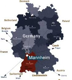"Mannheim, the capital of German pop music, the ""Quadratestadt"" (city of squares)."