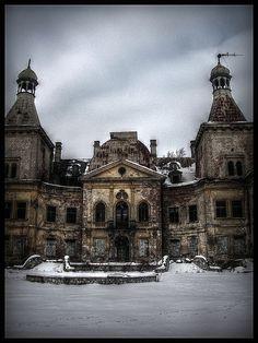 Abandoned Palace in Poland