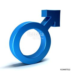 """Download the royalty-free photo """"Male Symbol. 3D Rendering Illustration"""" created by Fotolia365 at the lowest price on Fotolia.com. Browse our cheap image bank online to find the perfect stock photo for your marketing projects!"""
