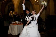 Football Wedding.