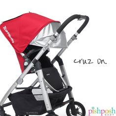 The UPPAbaby CRUZ 2015 is compact enough for urban dwellers, yet tough enough for anything a city sidewalk can throw at you. Never-flat Airgo tires, a bumper bar, and holds the Mesa car seat without adapters - it's all the perks of a full-size stroller - without the full-size price tag. Available in 7 colors - priced from $499.99-$529.99.  http://www.pishposhbaby.com/uppababy-cruz-2015.html