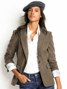 4bad5a2657c 56 Best Tweed blazers for women images
