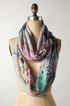 Blooming Hour Infinity Scarf - anthropologie.com