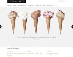 [Fior di Latte] Awesome choice of photos + engaging messaging. A design that's conversion oriented but in a subtle way.