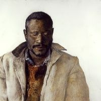 Andrew Wyeth, The Drifter, 1964, Dry-brush Watercolor, Seattle Art Museum