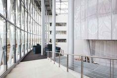 Barco Campus One, Courtrai - Photo © AVC doors & Walls -   www.avc.eu #architecture #projet