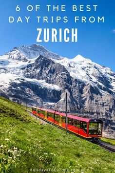 6 of the Best Day Trips from Zurich // Visitors to Switzerland's largest city, Zurich, will find plenty of sights and attractions to fill their days. With its perfect location in the heart of Europe, Zurich is also a great base from which to explore other parts of the country. In this post I share six of the best, and most popular, day trips from Zurich.