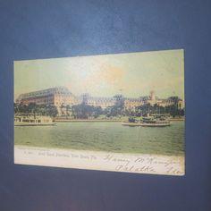 Hotel Royal Poinciana Rotograph Co. 1904 Palm Beach Florida Vintage Postcard