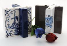 Tuliptile vase / Tulpentegel vaas Design by Robert Bronwasser