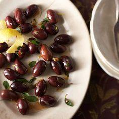 Lemony-Herbed Olives
