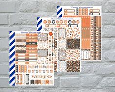 Autumn Leaves Weekly Kit, 3 pages, Premium Matte #supplies @EtsyMktgTool http://etsy.me/2jjOTVx #plannerstickers #matteplanner