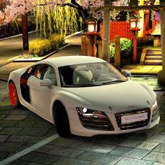 The best shot I've seen of an Audi R8, simply beautiful!