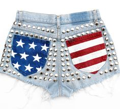 Amerykańska flaga do ubrania | Femelo