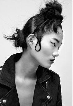 Hyun Ji Shin by Hannah Scott-Stevenson for i-D Australia | The Fashionography