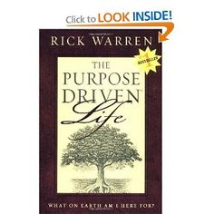 Everyone needs to read this book! I pray that everyone will come into their purpose before they leave this world!