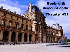 Book your trip with www.efcollegebreak.com along with EF College Break discount code: TXstate1491