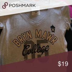 Bryn Mawr College Tshirt Never Worn Tops Tees - Short Sleeve