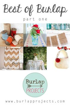 Best of Burlap DIY Projects Part One