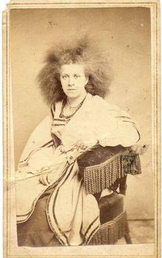 Zaluma-Agra-Circassian-Star-Of-The-East-P-T-Barnum-Exhibit-Vintage-Photograph
