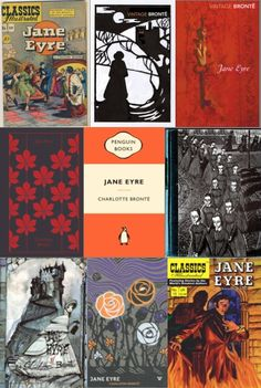 Jane Eyre - real and proposed covers