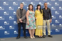 Avshalom Pollak, Shani Klein and Yaelle Kayam attend a photocall for 'Mountain' during the 72nd Venice Film Festival at Palazzo del Casino on September 4, 2015 in Venice, Italy.