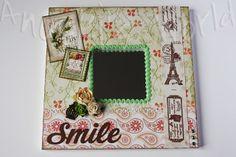 """Espejo decorado """"Smile"""""""