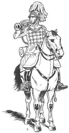 Principe 1885 Lanceros. Tronpeta