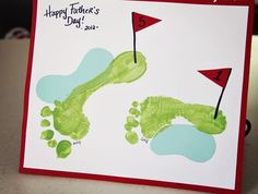 Show Dad the L-O-V-E this year with a crafty card made at home.