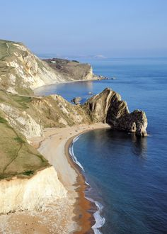 durdle door, england.