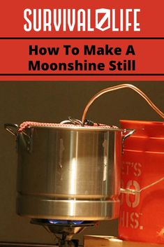 Want to learn how to make a moonshine still? Become one of the moonshiners this moonshine still DIY. Survival Life is the best source for prepper survival gear. Moonshine Still Plans, How To Make Moonshine, Making Moonshine, Survival Life, Survival Food, Survival Skills, Camping Survival, Moon Shine, Recipes