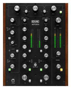 The Rane MP2014 is a 2-deck rotary tabletop DJ mixer | Rane DJ