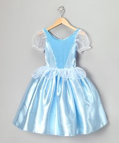 Blue Princess Party Dress - Infant, Toddler & Girls