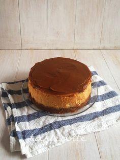 dulce de leche, cheesecake, tarta de queso, base de galletas digestive, galletas maria