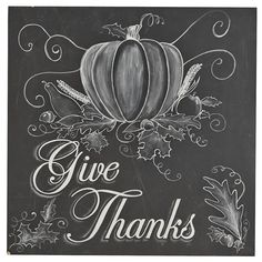 Give Thanks Chalk Art | Pier 1 Imports