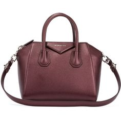 Givenchy Antigona Small Sugar Goatskin Satchel Bag (146.050 RUB) ❤ liked on  Polyvore featuring efce2d0068754
