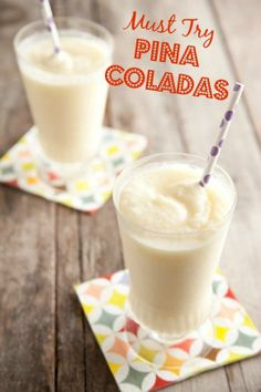 Best Pina Colada Recipe - Looking forward to the beach this weekend!
