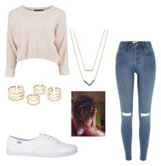 """""""School - casual"""" by diboramillion on Polyvore featuring River Island and Michael Kors"""