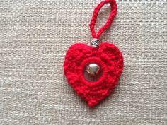 Crochet christmas heart