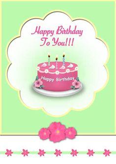 Free printable birthday cards - my-free-printable-cards.com