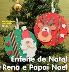 Enfeites natalinos, reciclando CD