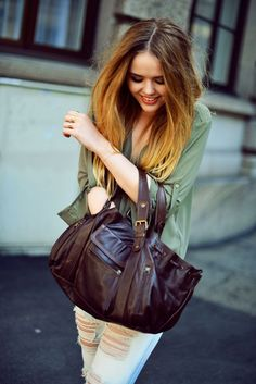 Kayture // Kristina Bazan et son sac 24 heures